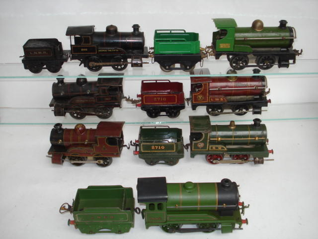 Hornby Series 0-4-0 locomotive and tenders 7