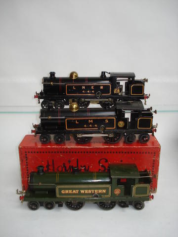 Hornby Series three c/w No.2 4-4-4 tank engines 3