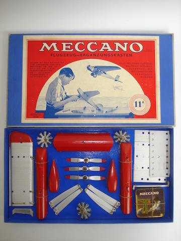 Meccano for the German market Aeroplane convertion outfit 11a