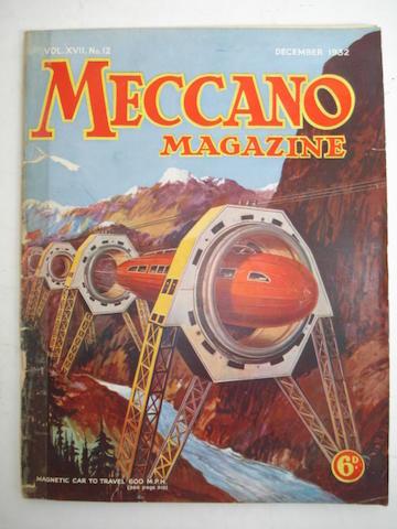 1930's Meccano Magazines 5 boxes