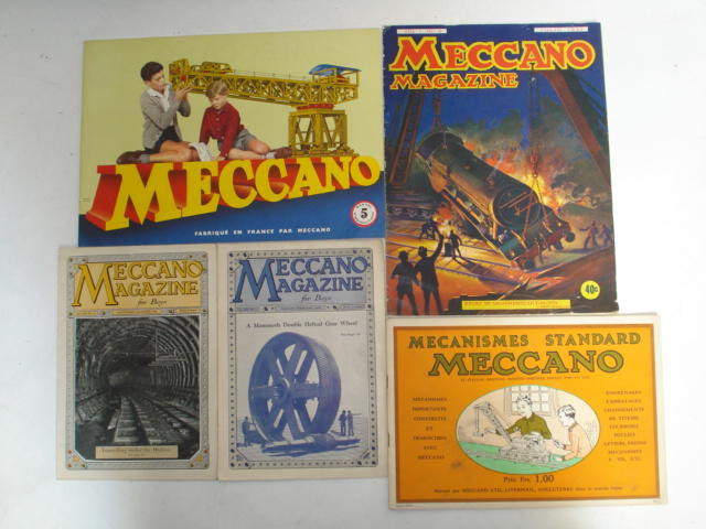 Export and Foreign language Meccano literature lot