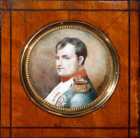 L. Delaroche Portrait of Napoleon