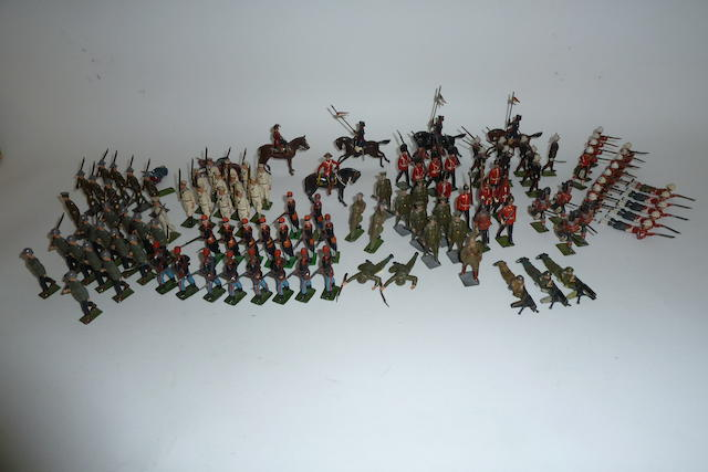 Britains and other toy soldiers 220 approx