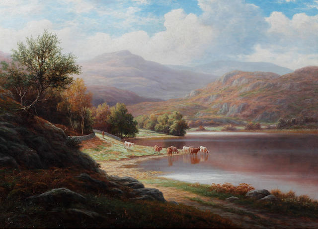 William Mellor (British, 1851-1931) 'Silver Howe from Rydal Lake, Westmoreland'