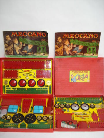 Meccano Outfits No.6 and no.3, 1950/51