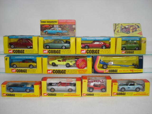 Corgi cars 12