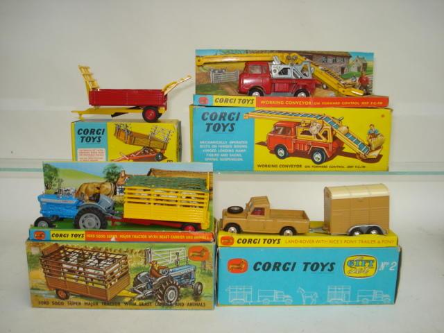 Corgi Agricultural models 4