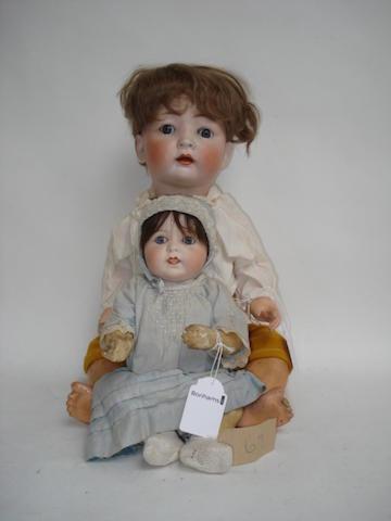 Konig & Wernicke bisque head baby 2