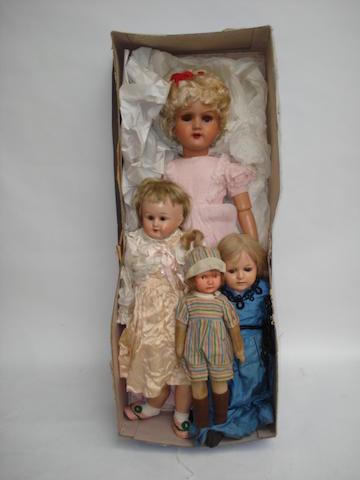 Belgium composition doll in original box 4