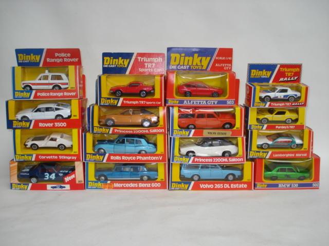 Dinky cars 17