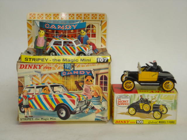 Dinky TV vehicles 2