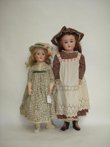 Schoenau & Hoffmeister bisque head doll 2