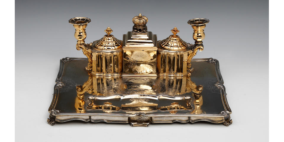 18th Century style inkstand French