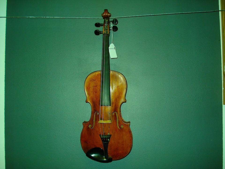 A Saxon Violin circa 1800 (17)