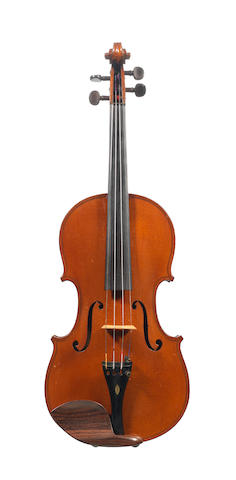 A French Barzoni Violin, 1910 (2)
