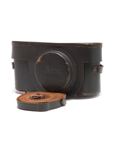 Eveready case for Leica IIIC camera,