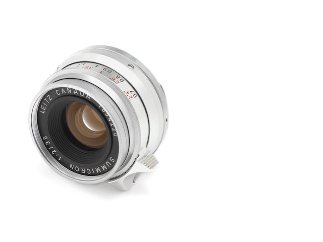 A 35mm f2 chrome 8 element 1st version 1654220 (Christies £1700)