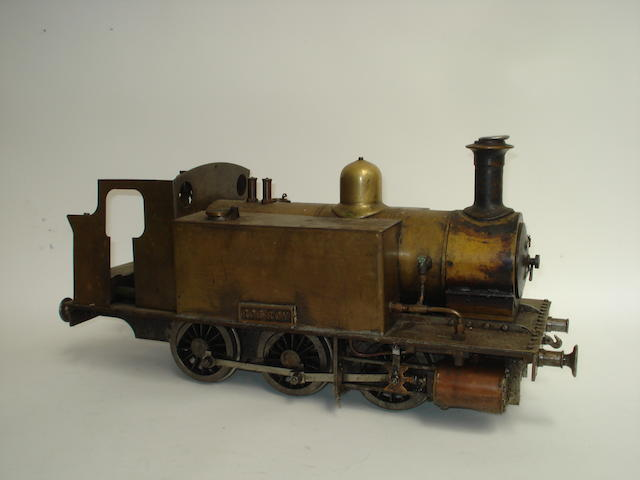 A 3 1/2in gauge brass model 0-6-0 tank engine Rob Roy