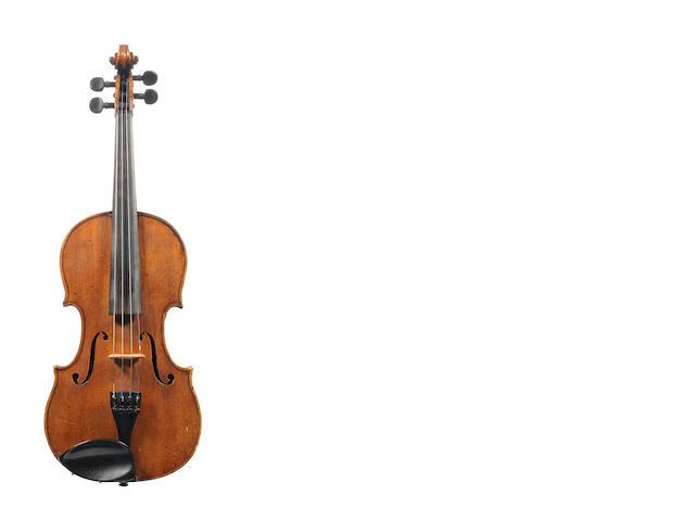 A French Violin by Charles J.-B. Colin Mezin, Paris, 1883 (2)