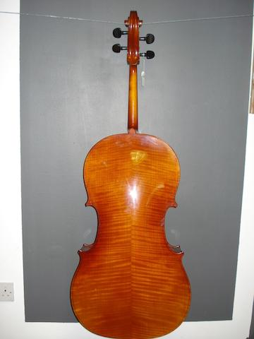 A Contemporary Cello labelled Andrew Schroetter, Beubenreuth/Bayern (3)