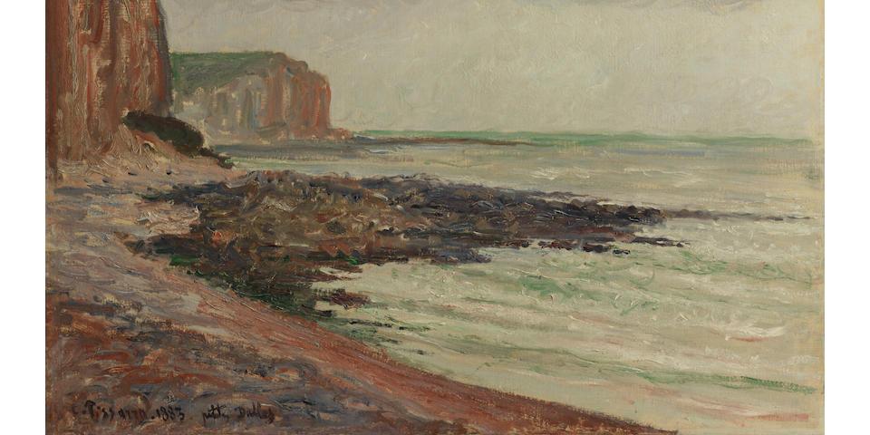 Camille Pissarro (French, 1830-1903) Falaises aux Petites-Dalles