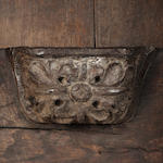 A rare late medieval oak misericord chair pre 1540
