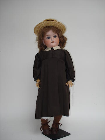 A.M 1894 bisque head doll 2