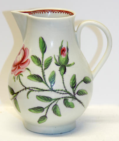 A small Worcester jug