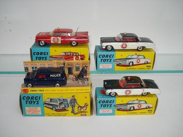 Corgi Police cars 4