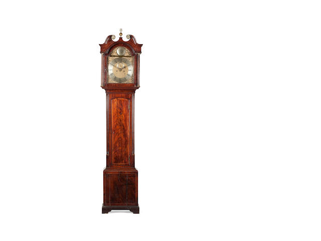 A George III mahogany, longcase clock Robert Menzies, Perth