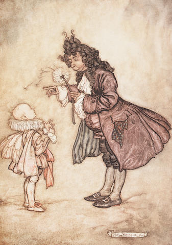 BARRIE (J.M.) Peter Pan in Kensington Gardens, NUMBER 40 OF 500 COPIES SIGNED BY ARTHUR RACKHAM