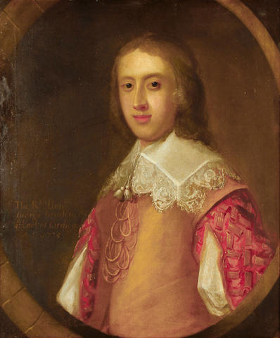 English School, 1735 Portrait of a gentleman, traditionally identified as The Right Hon. George Brudenell,