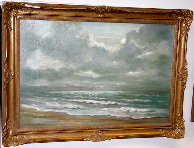 English School, 19th Century Seascape