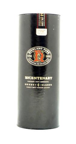 Highland Park Bicentenary-1977