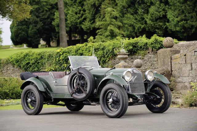 The ex- Leonard Headlam, Tourist Trophy and Irish Grand Prix Team Car,1929 Alfa Romeo 1750 SS Competition Tourer  Chassis no. 0312906 Engine no. 0312906