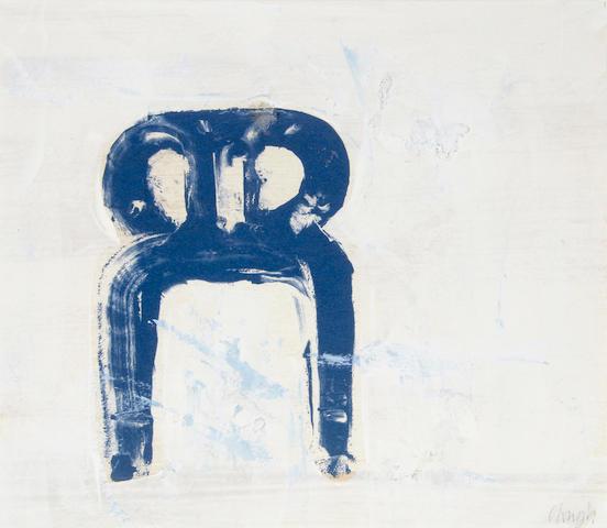 Prunella Clough (British, 1919-1999) Chair, c.1995