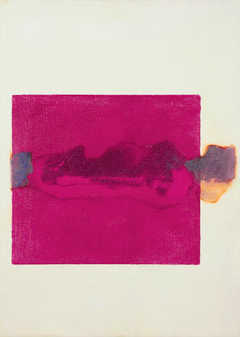 Prunella Clough (British, 1919-1999) Rocks (Magenta), 1997