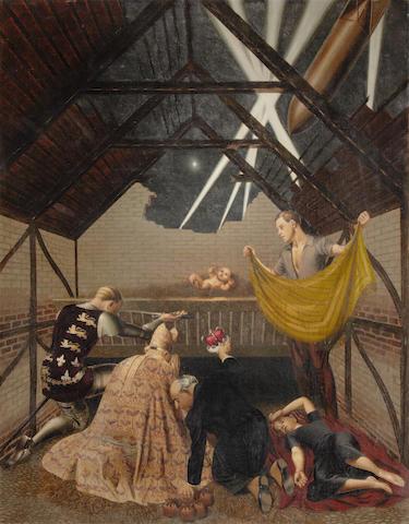 Louis Duffy (British, 1908-1998) The Blitz Birth