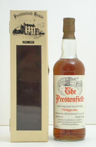 Bowmore-21 year old-1966