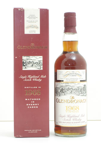 The Glendronach-25 year old-1968