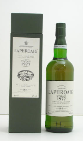 Laphroaig-Vintage 1977