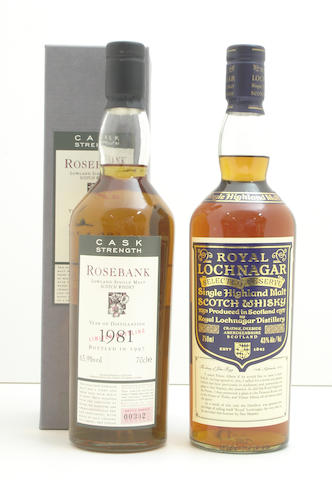 Rosebank-1981  Royal Lochnagar Selected Reserve