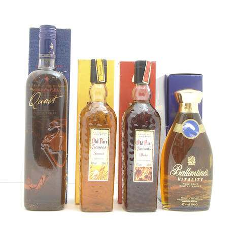Johnnie Walker Quest<BR /> Old Parr Seasons (2): <BR /> Ballantine's Vitality