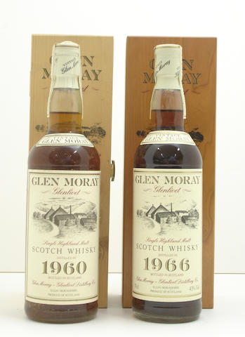 Glen Moray-26 year old-1960<BR /> Glen Moray-26 year old-1966