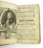 [BLOUNT (THOMAS)] Boscobel: Or, the History of His Sacred Majesties Most Miraculous Preservation after the Battle of Worcester