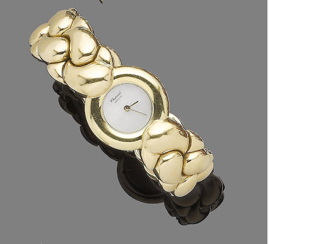 A 'Casmir' bangle watch,  by Chopard
