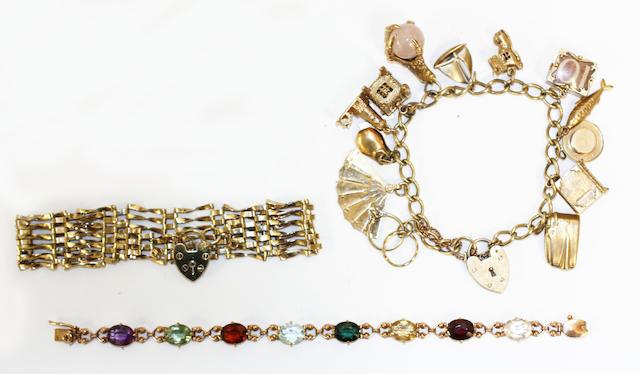 Three bracelets,