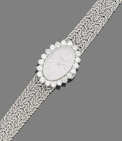 A diamond wristwatch, by Chopard for Kutchinsky,