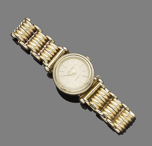 A wristwatch, by Bueche Girod