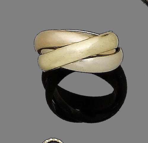A 'Trinity' ring, by Cartier